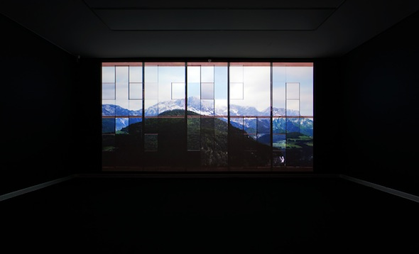 Gábor Ösz - Exhibition View – Das Fenster